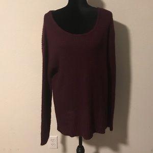 Knox Rose Lace Back Sweater